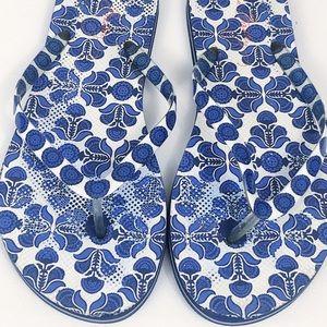 Vera Bradley Floral Flip Flop Sandals